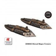 Uncharted Seas: Shroud Mages - Stalker Class Cruiser (2)