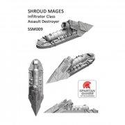 Uncharted Seas: Shroud Mages - Infiltrator Assault Class...