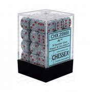 Chessex: Air Speckled 12mm D6 Dice Block (36 Dice)
