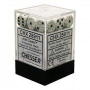 Chessex: Artic Camo Speckled D6 Dice Block (36 Dice)