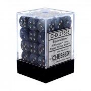 Chessex: Phantom Black/Silver d6 Dice Block