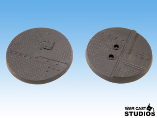 Industrial Bases 60mm Round (2 Stk)